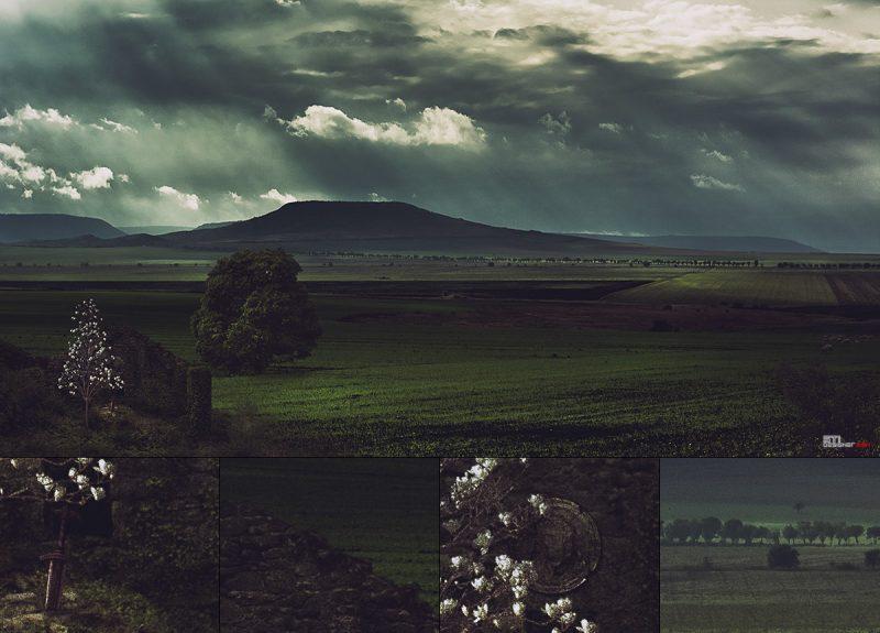 Песен за войнът и смъртта концептуална фотография и мат пейнтинг Светослав Иванов
