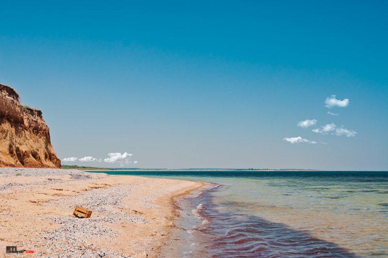 Цветна фотография на Светослав Иванов плажът на село Крапец
