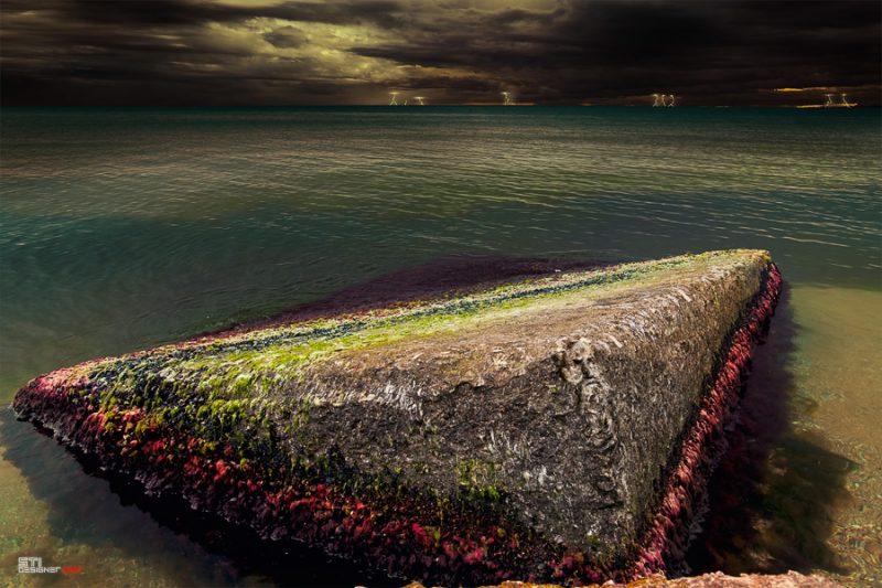 Светослва Иванов - Отмъщението на Нептун, експериментална и концептуална фотография