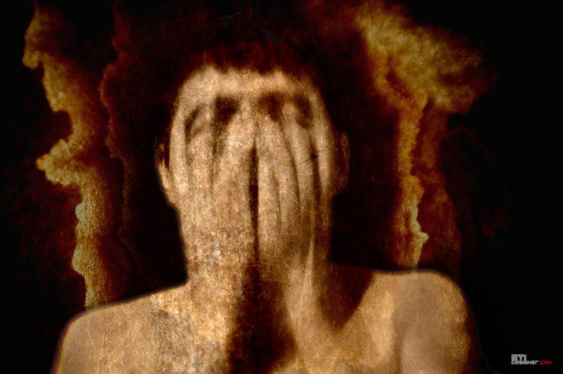 Свтослав Иванов Мъж без лице, експериментална и мрачна фотография