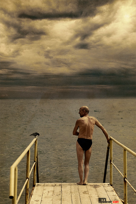 Светослав Иванов - Старият мъж и гарвана, експериментална и концептуална фотография