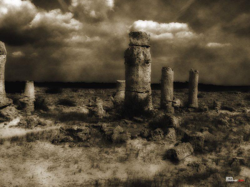 Светослва Иванов - Каменни лица, експериментална и концептуална фотография