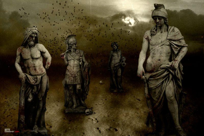 Светослав Иванов - Каменните войни на хаоса, експериментална и мрачна фотография