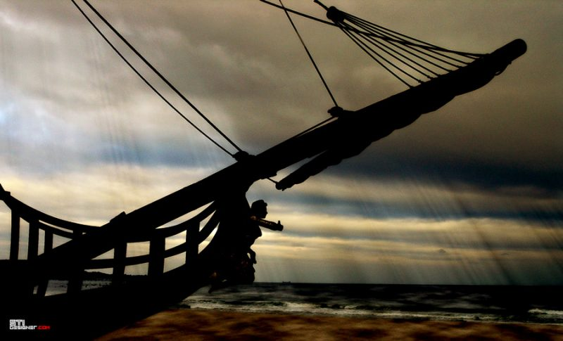 Светослав Иванов - Слънчев кораб, експериментална и мрачна фотография