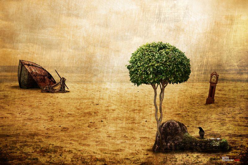Светослав Иванов - Брега на изгубените мисли - централен прозорец, експериментална и концептуална фотография