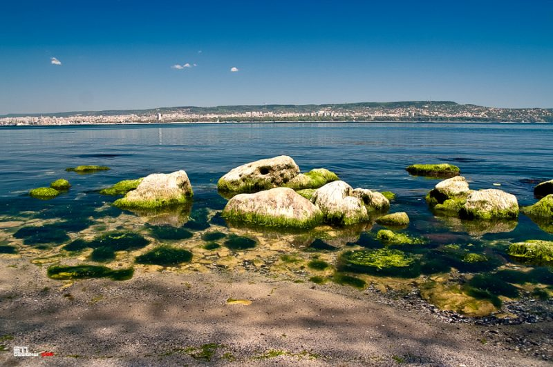 Варненски залив от страната на квартал Галата - Светослав Иванов