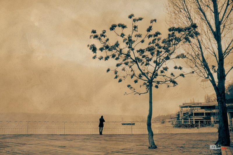 Светослав Иванов - Варна през есента, експериментална, меланхолична фотография