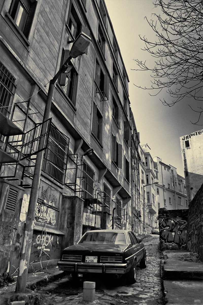 Фотография на улица в Истамбул