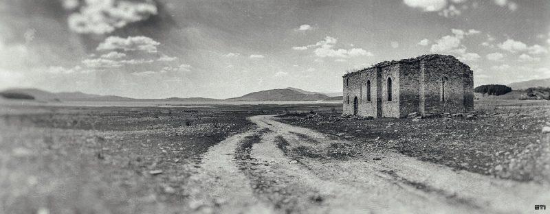 Фотография ретуш черно и бяло