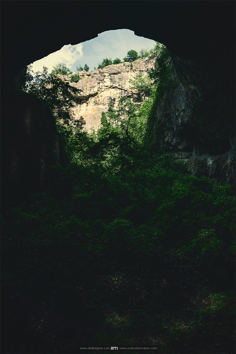 Фотография на пещера