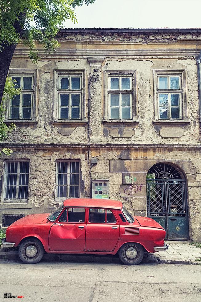 Цветна фотография на Варненска улица